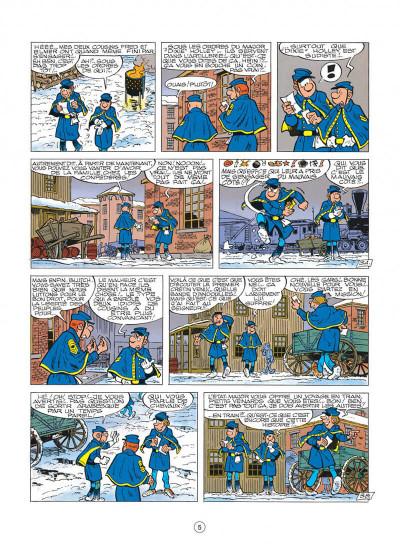 Page 5 les tuniques bleues tome 23 - les cousins d'en face