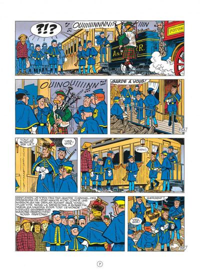 Page 7 les tuniques bleues tome 23 - les cousins d'en face
