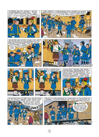 Page 8 les tuniques bleues tome 23 - les cousins d'en face