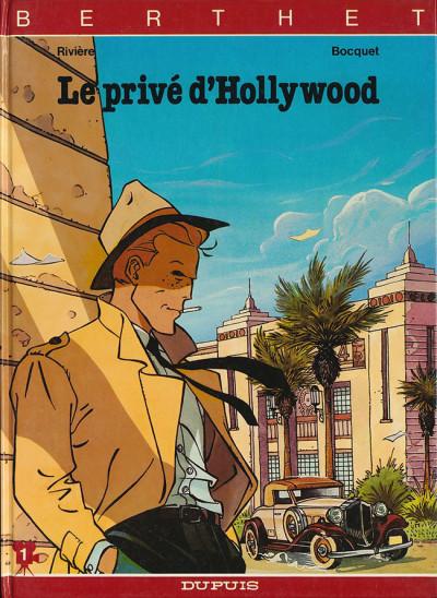 Page 1 Le privé d'hollywood tome 1