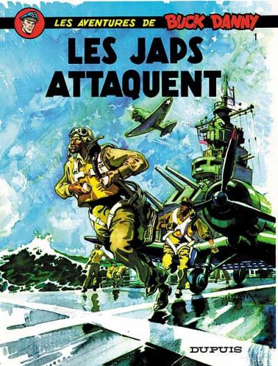 Couverture buck danny tome 1 - les japs attaquent