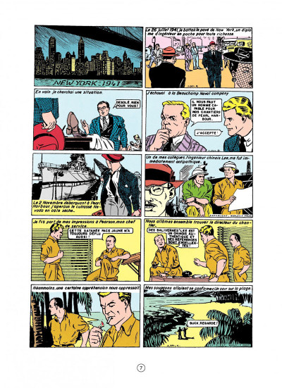 Page 3 buck danny tome 1 - les japs attaquent