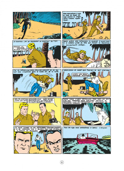 Page 8 buck danny tome 1 - les japs attaquent