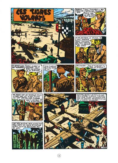 Page 3 buck danny tome 4 - tigres volants