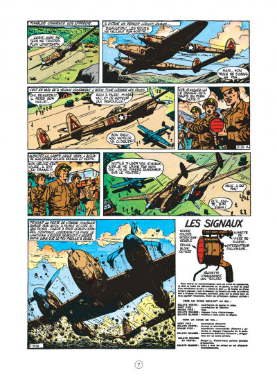 Page 7 buck danny tome 4 - tigres volants