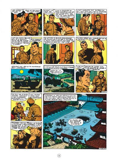 Page 9 buck danny tome 4 - tigres volants