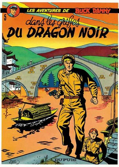 Couverture buck danny tome 5 - dans griffes du dragon noir