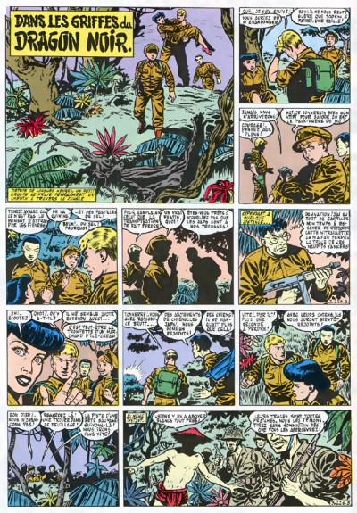 Page 1 buck danny tome 5 - dans griffes du dragon noir