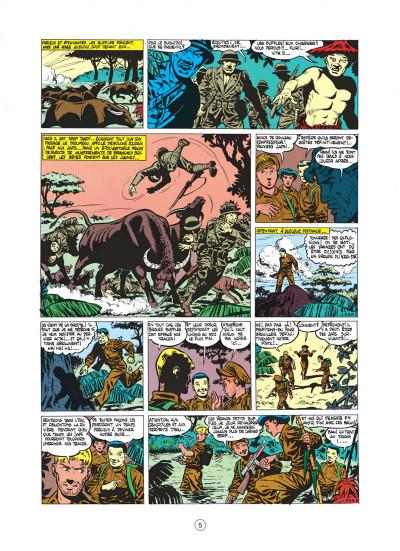 Page 5 buck danny tome 5 - dans griffes du dragon noir