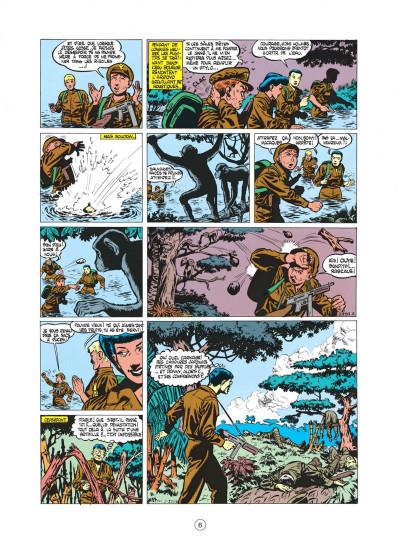 Page 6 buck danny tome 5 - dans griffes du dragon noir