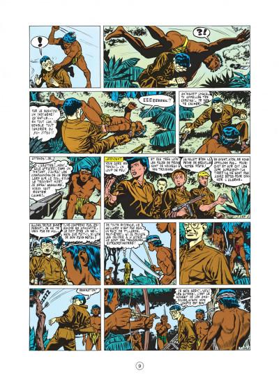 Page 9 buck danny tome 5 - dans griffes du dragon noir