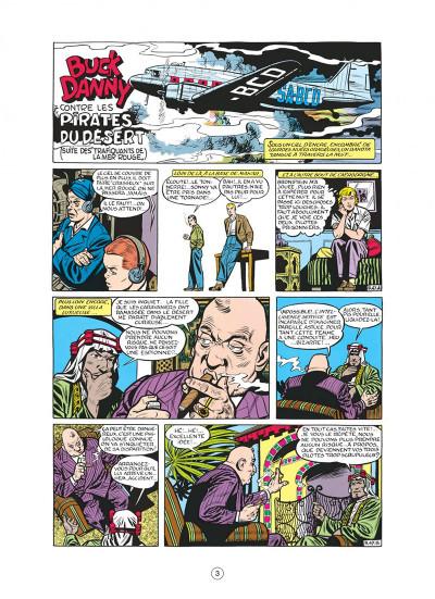 Page 3 buck danny tome 8 - les pirates du désert