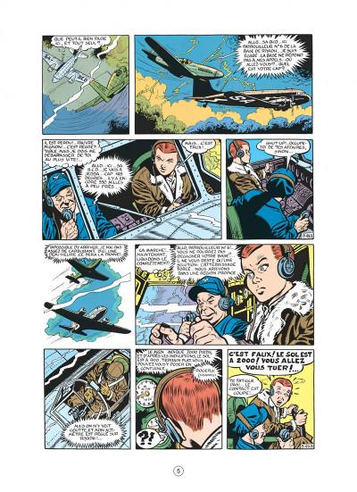 Page 5 buck danny tome 8 - les pirates du désert