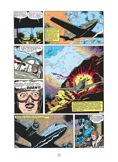 Page 6 buck danny tome 8 - les pirates du désert