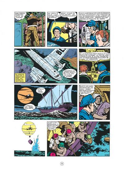 Page 9 buck danny tome 8 - les pirates du désert