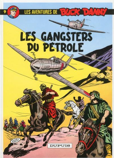 Couverture buck danny tome 9 - les gangsters du pétrole