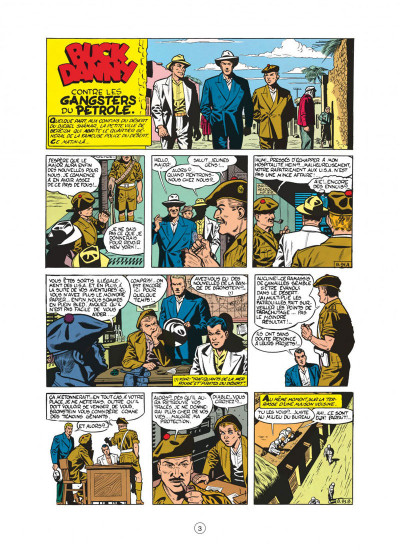 Page 3 buck danny tome 9 - les gangsters du pétrole