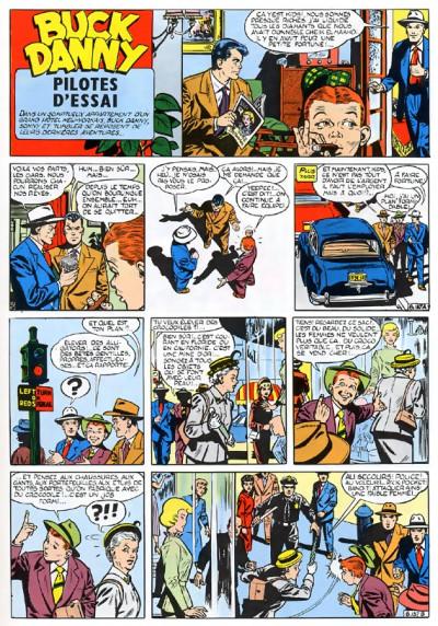 Page 1 buck danny tome 10 - les pilotes d'essai