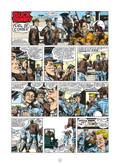 Page 3 buck danny tome 11 - ciel de corée