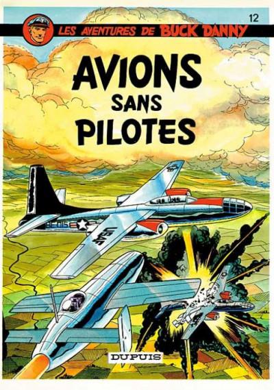image de buck danny tome 12 - avions sans pilotes