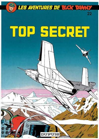 image de buck danny tome 22 - top secret