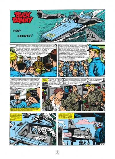 Page 3 buck danny tome 22 - top secret