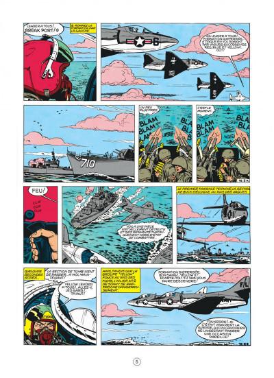 Page 5 buck danny tome 22 - top secret