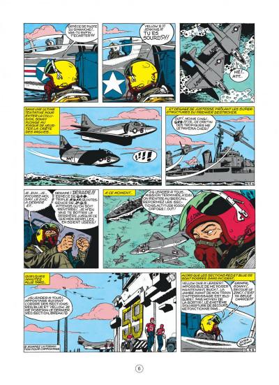 Page 6 buck danny tome 22 - top secret