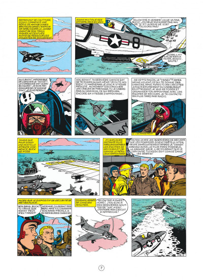 Page 7 buck danny tome 22 - top secret