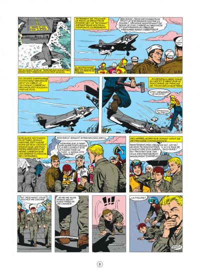 Page 8 buck danny tome 22 - top secret