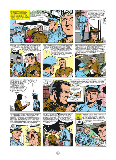 Page 9 buck danny tome 22 - top secret