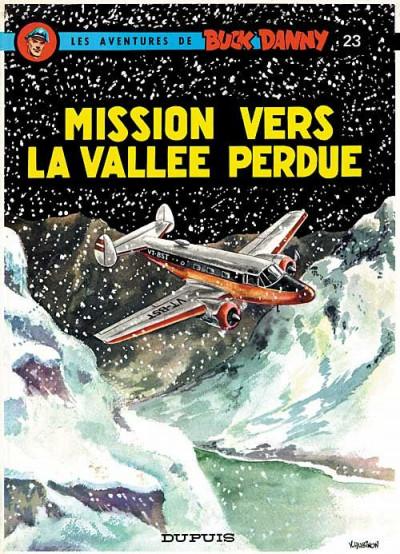 Couverture buck danny tome 23 - mission vers la vallée perdue