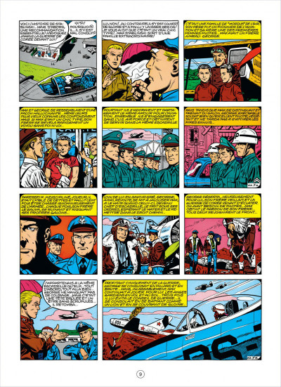 Page 9 buck danny tome 25 - escadrille zz