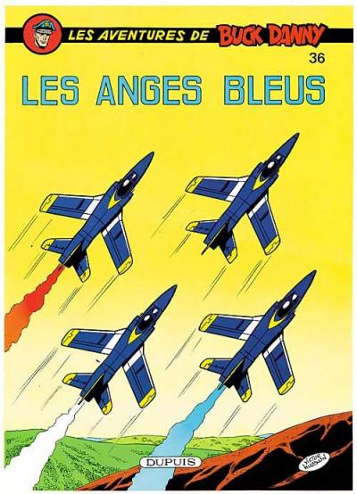 Couverture buck danny tome 36 - les anges bleus