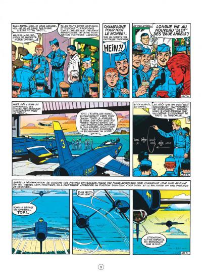 Page 9 buck danny tome 36 - les anges bleus