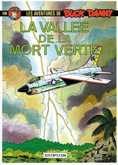 Couverture buck danny tome 38 - la vallée de la mort verte
