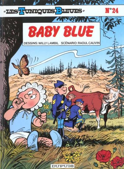 Couverture les tuniques bleues tome 24 - baby blue