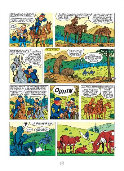 Page 3 les tuniques bleues tome 24 - baby blue