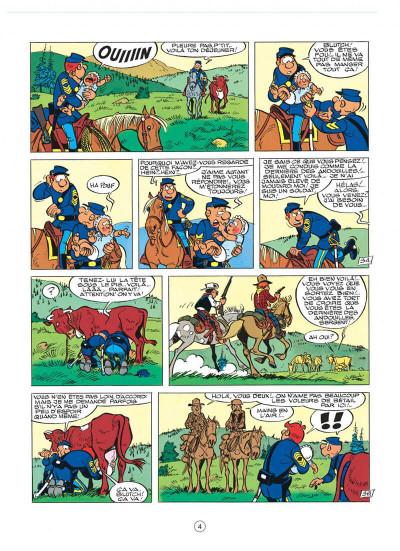 Page 4 les tuniques bleues tome 24 - baby blue