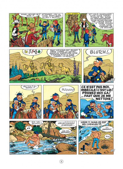 Page 5 les tuniques bleues tome 24 - baby blue