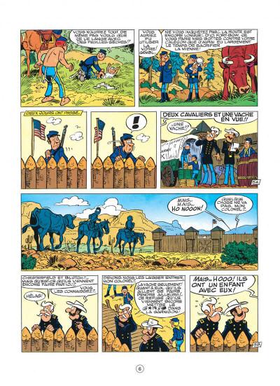 Page 6 les tuniques bleues tome 24 - baby blue