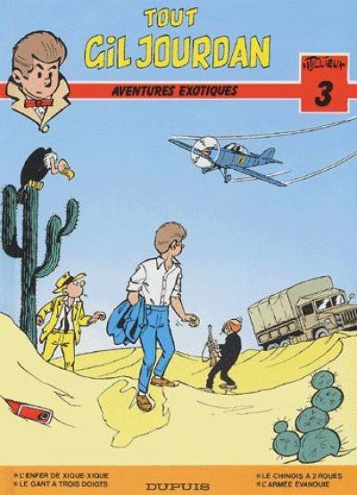 Couverture Tout Gil Jourdan tome 3 - aventures exotiques