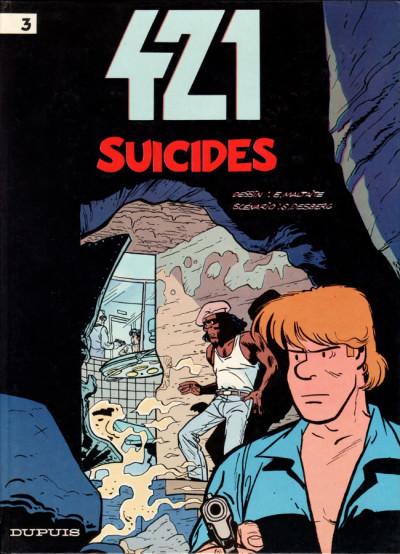 Couverture 421 tome 3 - suicides
