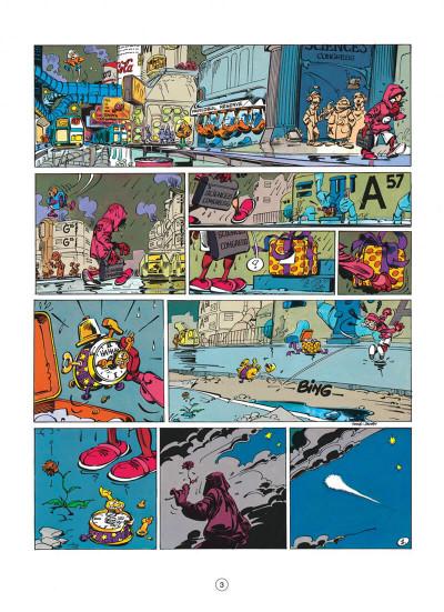 Page 3 spirou et fantasio tome 36 - l'horloger de la comète