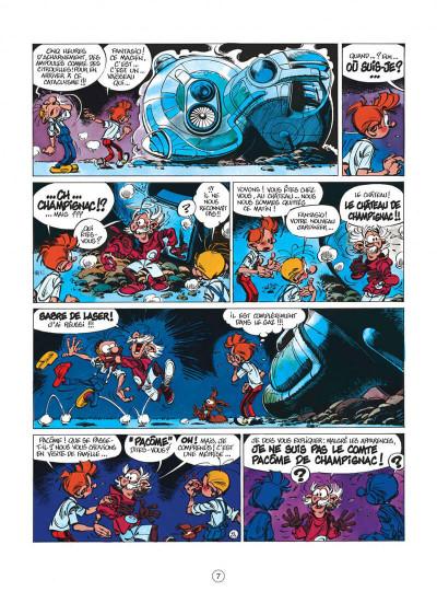Page 7 spirou et fantasio tome 36 - l'horloger de la comète