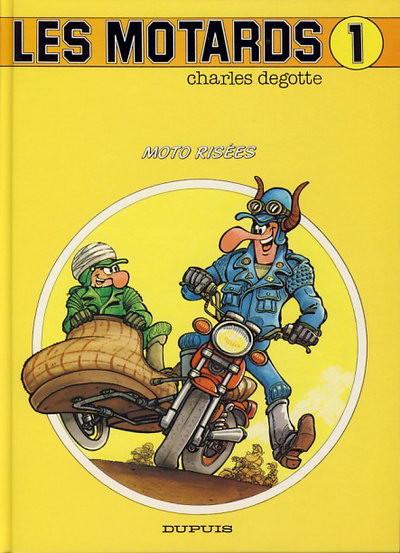 Couverture Motards (Les) tome 1 - Motos risées (éd. 1991)