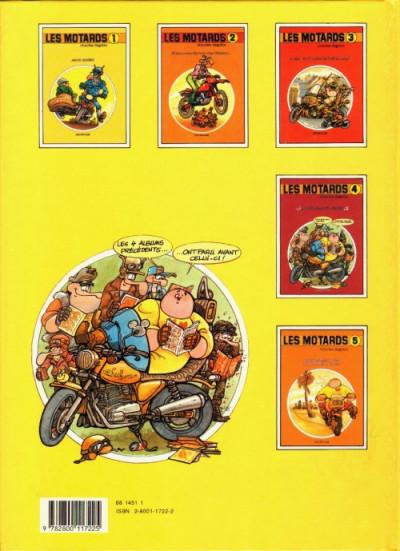 Dos Motards (Les) tome 1 - Motos risées (éd. 1991)
