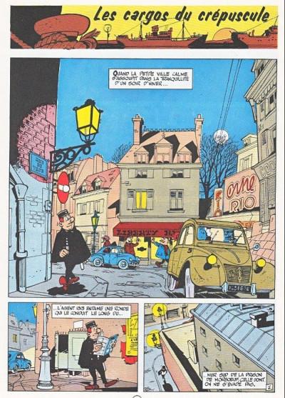 Page 1 Gil Jourdan tome 4 - les cargos du crépuscule