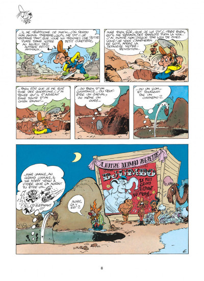 Page 8 pierre tombal tome 1 - les 44 premiers trous