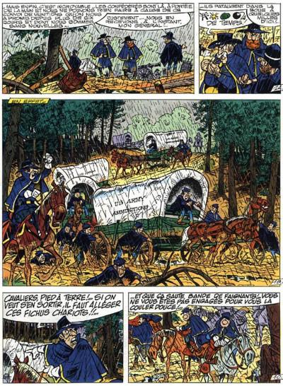 Page 3 les tuniques bleues tome 25 - des bleus et des bosses